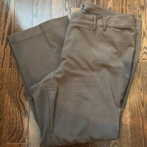 Lane Bryant Brown Dress Pants